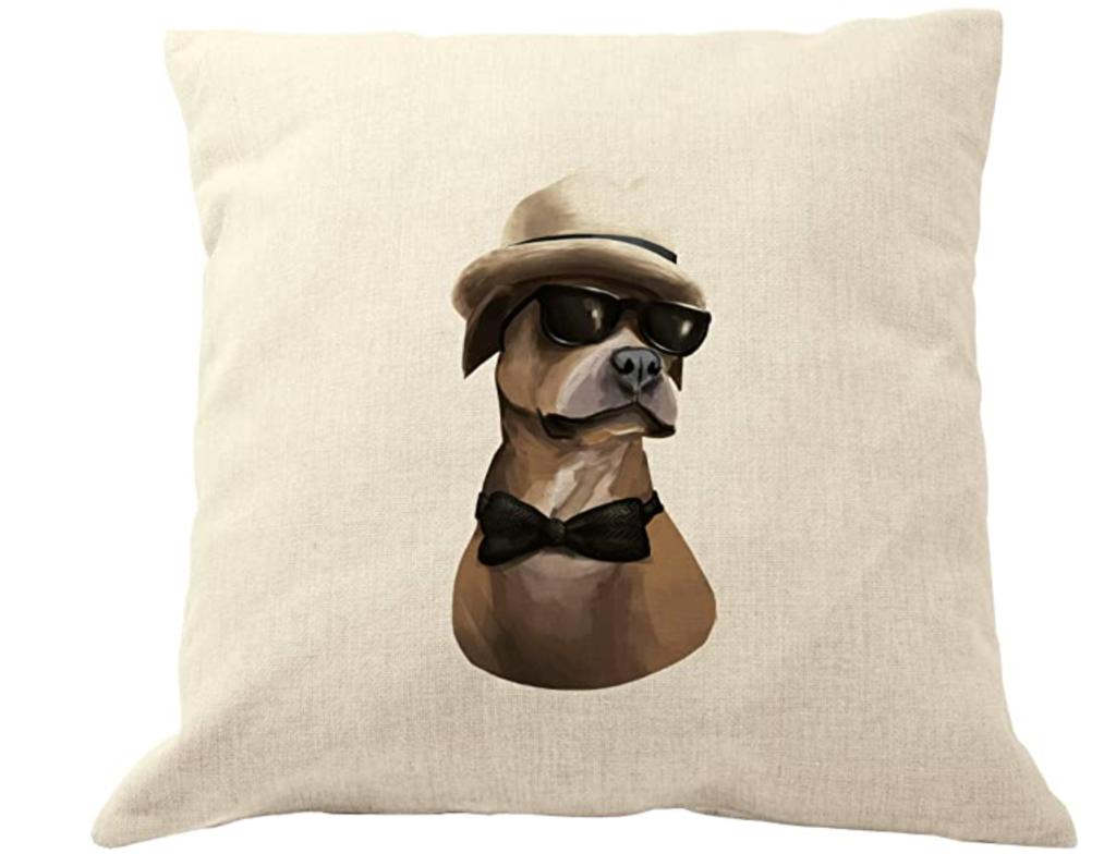 Funda de almohada para perro